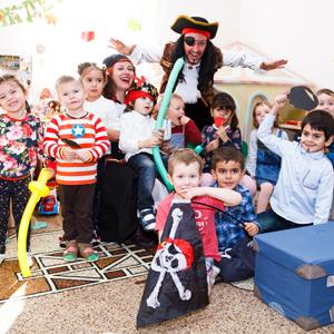 Пиратская вечеринка в детском саду