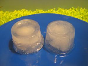 Как растопить лед без спичек