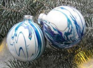 Роспись елочных шаров. Новогодний мастер-класс для детей. чУднЫе штуки. Мастер-класс на корпоратив