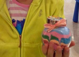 Цветная соль. Новогодний мастер-класс для детей. чУднЫе штуки. Мастер-класс на корпоратив