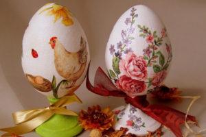 Декор яиц к Пасхе, мастер-класс для детей, пасхальный мастер-класс