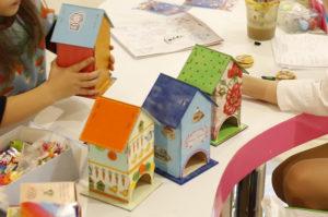 чУдные штуки, мастер-классы, чайные домики, детские мастер-классы, семейный мастер-класс, куда пойти с ребенком, домик для чайных пакетиков,