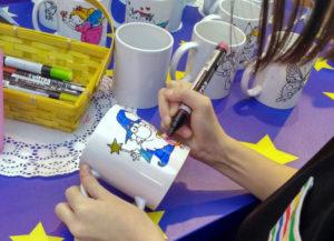 Роспись кружек. Мастер-класс для детей