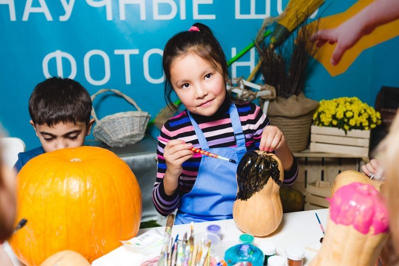 Роспись тыкв, чудные штуки, детский мастер-класс, мастер-класс на Хеллоуин