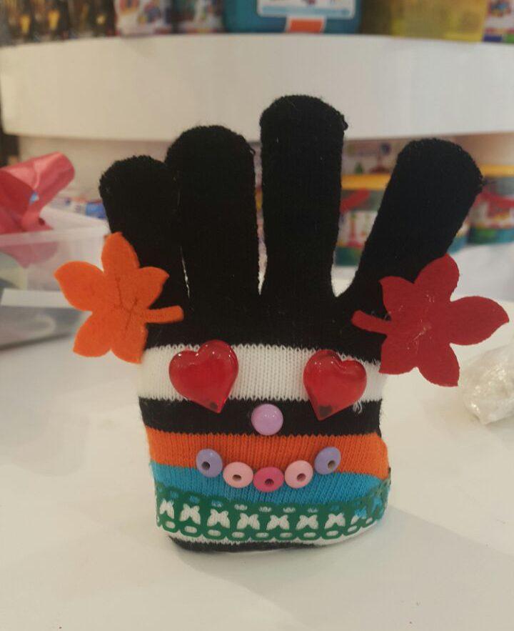 Монстрики из перчаток, чудные штуки, детский мастер-класс, мастер-класс на Хеллоуин